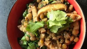 Curried Lentils with Spinach Recipe Hero